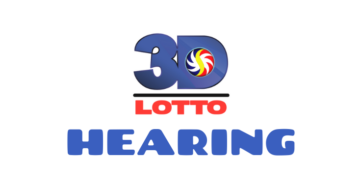 3d lotto hearing