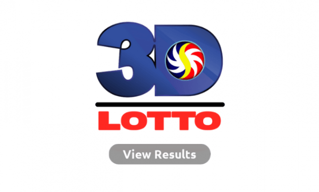 3D Lotto Result - Swertres Result