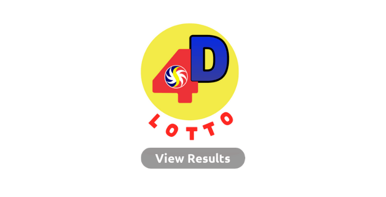 4D lotto Result
